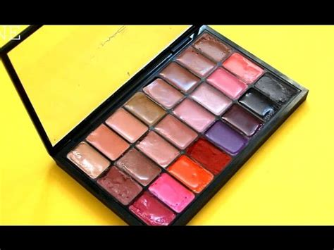 Diskon Make Lip Color Palette diy how to make a lipstick palette theprinceofvanity