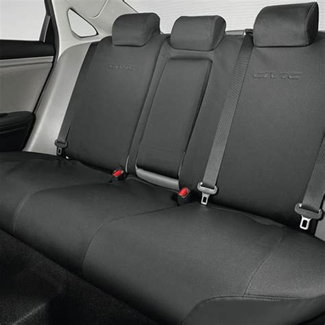 back seat covers for honda civic 08p32 tgg honda rear seat covers civic hatchback