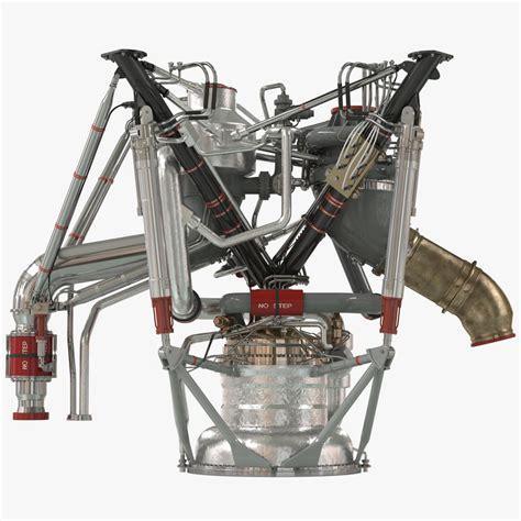 Raket Rs Power Max rs 68 rocket engine 3d c4d