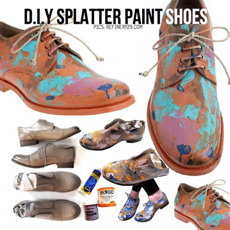 diy painting shoes creative ideas for boots bottle