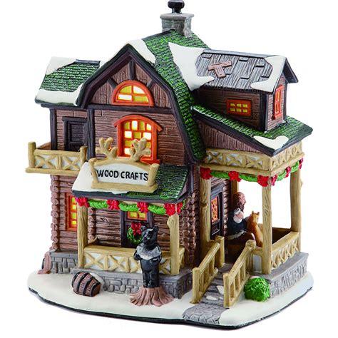 lighted christmas village sets lighted christmas village set merry christmas and happy