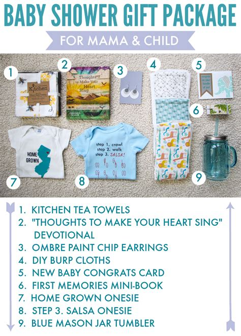 Baby Shower Packages by Baby Shower Gift Package Printable The Thinking Closet