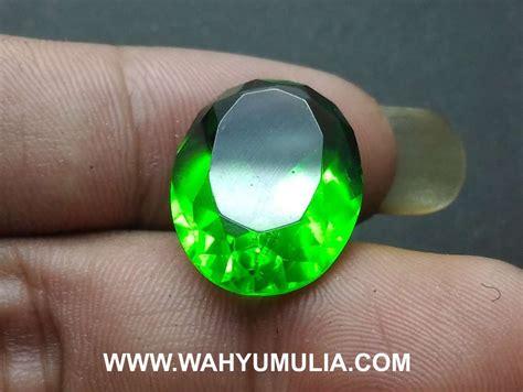 Harga Batu Cincin Meteor Hitam batu green tektit satam hijau kode 558 wahyu mulia
