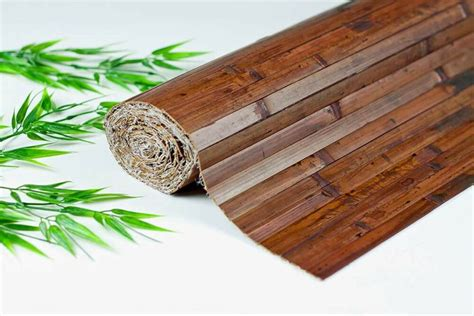 Bamboo Wainscoting by Bamboo Wall Covering Paneling Wainscot 8 Color Choices