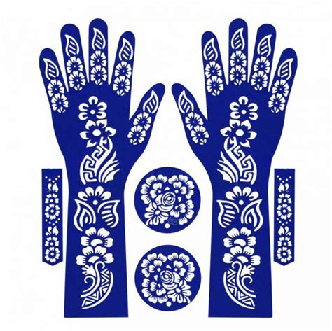 henna tattoo dubai price souq floral henna tattoos stickers 1 uae
