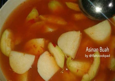 resep asinan buah oleh dapur ifah cookpad