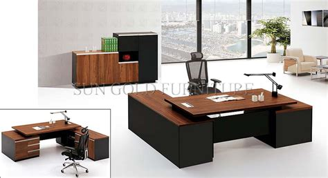ceo office furniture 2016 new design office desk ceo melamine wooden office