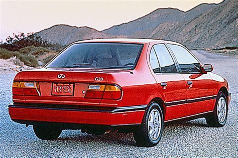 1996 infinity g20 1991 96 infiniti g20 consumer guide auto