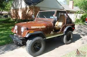 1978 Jeep Cj5 1978 Jeep Cj5 Renegade