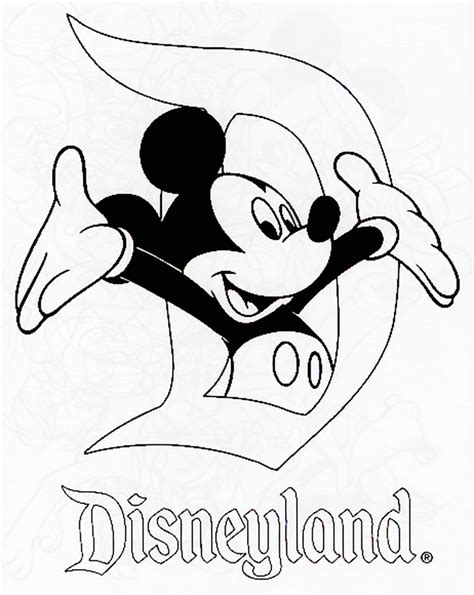 disneyland coloring pages coloring pages disneyland az coloring pages