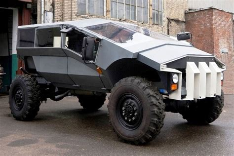 futuristic military jeep bizarre zil russian army humvee concept revealed auto
