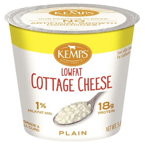 low calorie cottage cheese recipes 1 low cottage cheese single serve 5 64 oz kemps