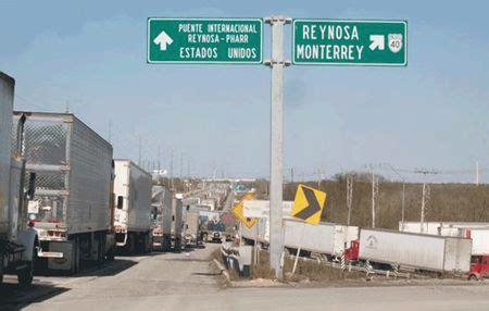valor tamaulipeco bloquean puentes en reynosa en tamaulipeco este a 241 o se concluir 225 la liaci 243 n del puente