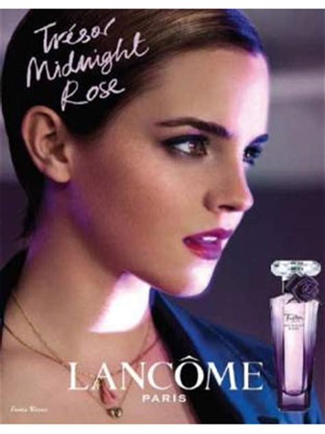 emma watson perfume lancome tresor midnight rose fragrances perfumes