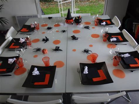 repas thème halloween id 233 e d 233 coration table repas