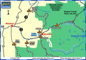 meeker colorado map meeker snowmobile trails map colorado vacation directory