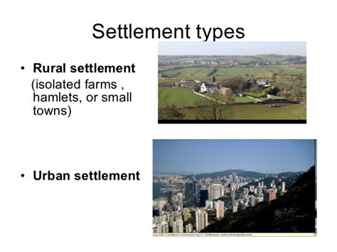 types pattern and morphology of rural settlement in india settlement types di