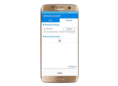 reset your samsung account password samsung galaxy s7 edge how to add remove your samsung