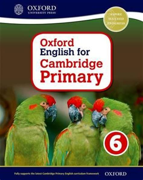 english for primary students oxford english for cambridge primary student book 6