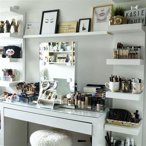 makeup vanity room ideas best 25 ikea makeup storage ideas on diy