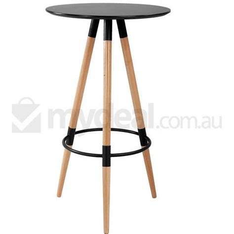 Standing Bar Table Helsinki Replica Wood Standing Bar Table In Black Buy Furniture