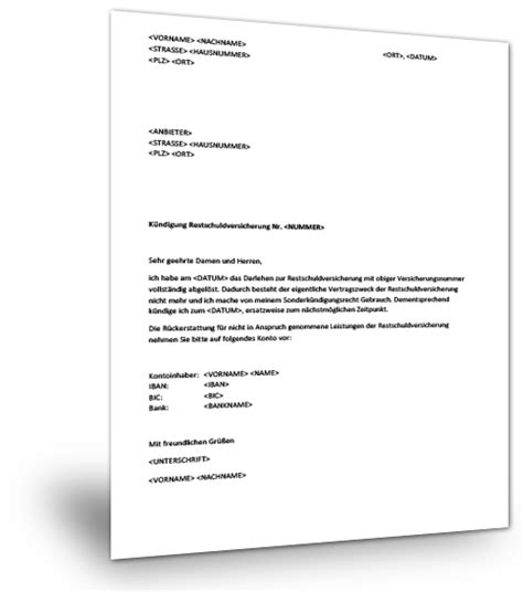Wohnungskündigung Auf Eigenbedarf Muster Kndigung Wegen Eigenbedarf Des Vermieters Mietvertrag Finanztip Kndigung Restschuldversicherung