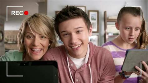 fios commercial actress mother frontier communications fios internet tv spot something