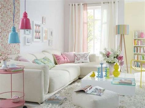 living room decorating ideas with pastel colors for summer