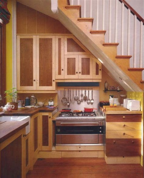 10 best images about Kitchens under stairs on Pinterest