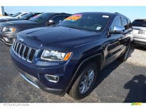 2014 true blue pearl jeep grand limited 80677534