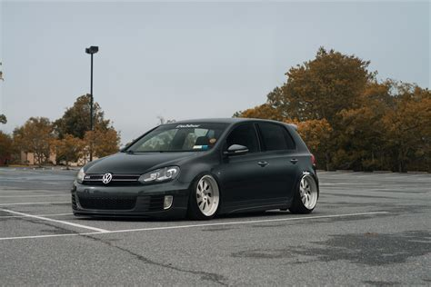 volkswagen golf custom fully custom vw golf mk5 fitted with large rotiform custom