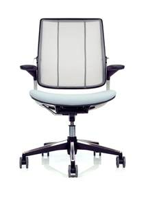 humanscale diffrient smart mesh office chair