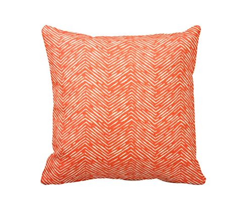 Size Pillows by 7 Sizes Available Decorative Throw Pillow Orange Throw
