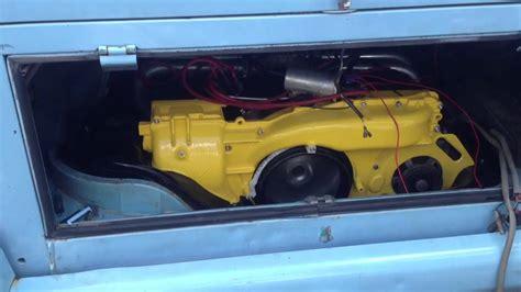 Porsche 914 Type 4 Engine Start