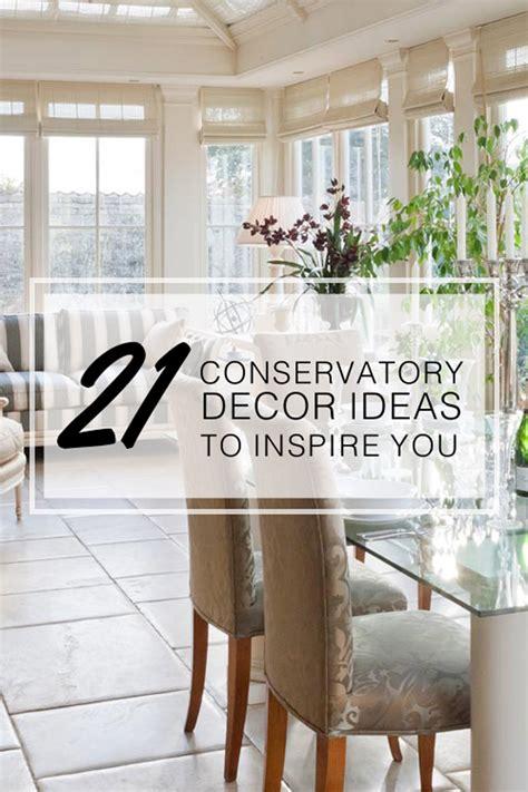 conservatory decor ideas  inspire   year
