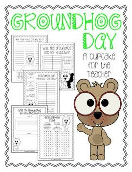 groundhog day viewing worksheet groundhog day free printables by a cupcake for the