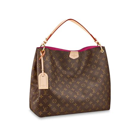 Louis Viton graceful mm louis vuitton monogram handbag for