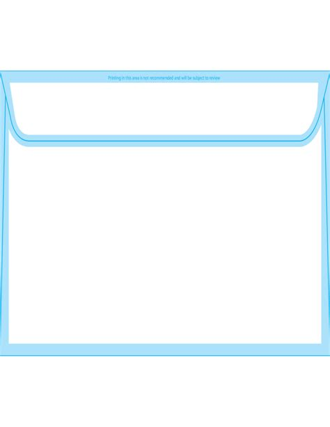 booklet envelope template booklet envelopes 6 x 9 1 2 back free