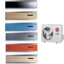 lg air conditioner single  split versions color