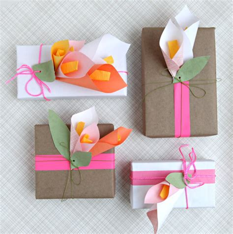 How To Make Paper Lilies - wrap it diy paper calla lilies for mother s day wantist