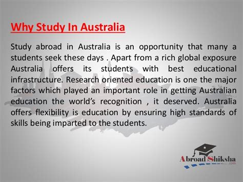 Mba Consulting Australia by Study In Australia Mba From Australia Engineering From