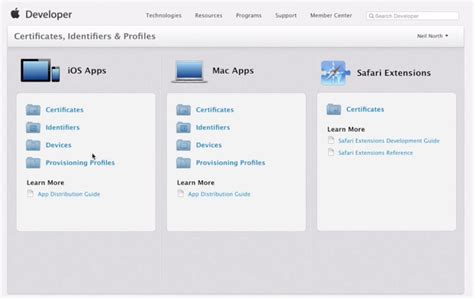 xamarin ipad tutorial how to create install ios development provisioning profile