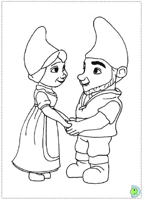 gnomeo and juliet coloring pages az coloring pages