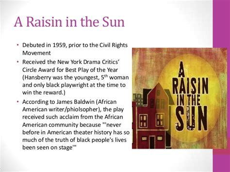 themes in a raisin in the sun by lorraine hansberry a raisin in the sun introduction