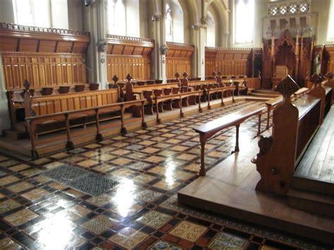 Floor cleaning & restoration at Stanbrook Abbey, Malvern