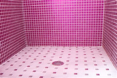 bathroom tiles pink pink glitter bathroom modern bathroom other metro