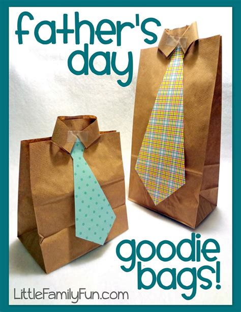 preschool crafts for kids father s day goodie bags craft