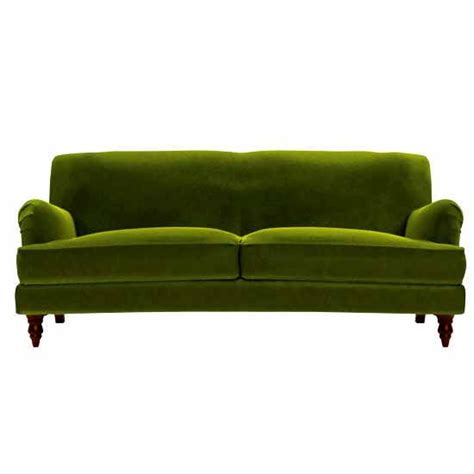 Green Sofas Uk by Green Velvet Snowdrop Sofa Eclectic