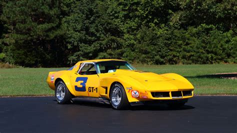 corvette race car 1969 chevrolet corvette race car t186 kissimmee 2017