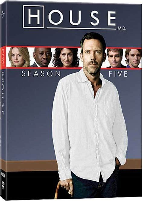 House Md Series House Season 5 Dvd Cover And Menu House M D Photo